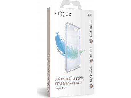 Ultratenké TPU gelové pouzdro FIXED Skin pro Apple iPhone 11 Pro, 0,6 mm, čiré