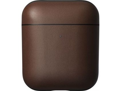 Nomad Leather case, brown - AirPods