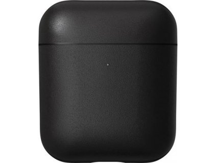 Nomad Leather case, black - AirPods