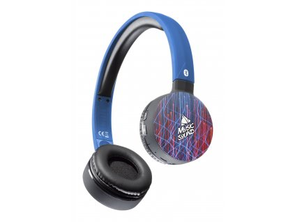 Bluetooth sluchátka MUSIC SOUND s hlavovým mostem a mikrofonem, vzor 5