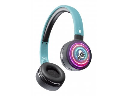 Bluetooth sluchátka MUSIC SOUND s hlavovým mostem a mikrofonem, vzor 6
