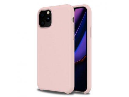 Originální silikonový kryt Clearo pro iPhone 11, růžový