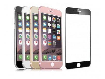 Tvrzené 3D sklo Clearo zaoblené barevné na celý displej pro iPhone 6 Plus/6S Plus (Barva Zlatý)