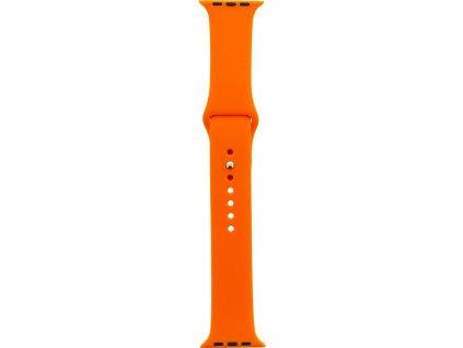 Tactical 474 Silikonový Řemínek pro iWatch 1/2/3 42mm Orange (EU Blister)
