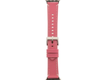 Tactical 033 Color Kožený Řemínek pro iWatch 4 40mm Pink (EU Blister)