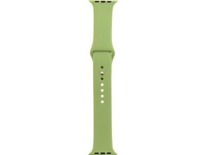 Tactical 457 Silikonový Řemínek pro iWatch 1/2/3 38mm Green (EU Blister)