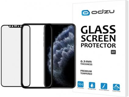 Odzu Glass Screen Protector Kit -iPhone 11 Pro Max