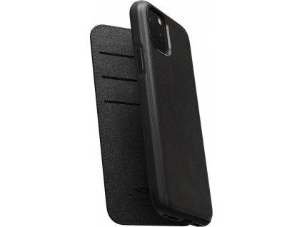 Nomad Folio Leather case, black - iPhone 11 Pro