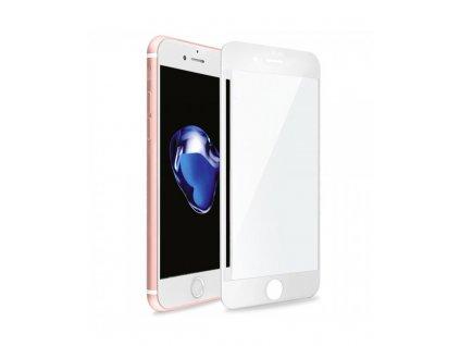 Tvrzené 3D sklo Swissten Ultra Durable Full Glue Glass (na celý displej) pro Apple iPhone 7 Plus/8 Plus, bílé