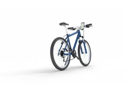 Univerzální držák Cellularline Bike Holder pro mobilní telefony k upevnění na řídítka, černý