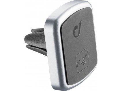 Magnetický držák do ventilace Cellularline Mag4 Handy Force PRO, stříbrný