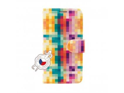 Pouzdro typu kniha FIXED FIT pro Apple iPhone 11, motiv Dice