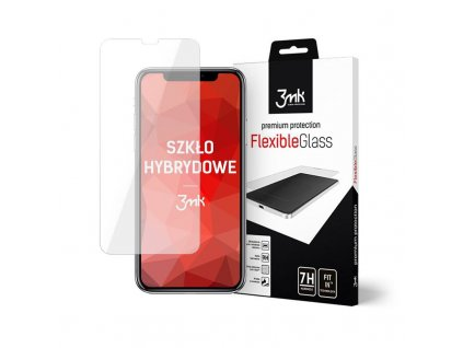 Hybrid Glass 3MK Flexible Glass pro iPhone 11 a XR