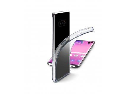 Extratenký zadní kryt CellularLine Fine pro Samsung Galaxy S10e, bezbarvý