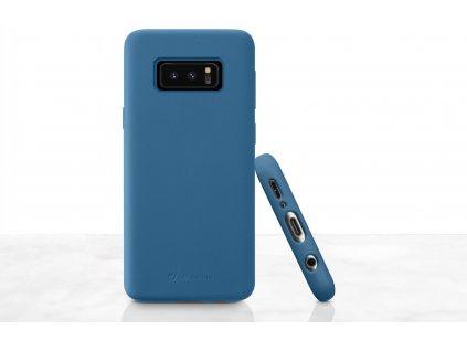 Ochranný silikonový kryt CellularLine SENSATION pro Samsung Galaxy S10e, modré