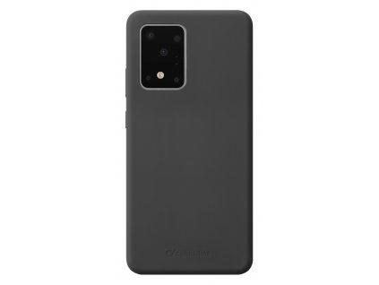 Ochranný silikonový kryt Cellularline Sensation pro Samsung Galaxy S20 Ultra, černý