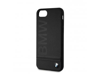 BMHCI8LLSB BMW Logo Imprint Kryt pro iPhone 8:SE2020 Black