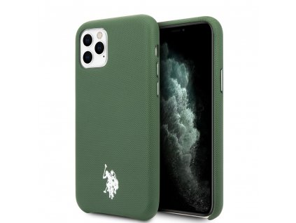 USHCN58PUGN U.S. Polo Wrapped Polo Kryt pro iPhone 11 Pro Green 4