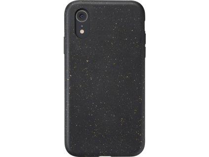 Kompostovatelný eko kryt Cellularline Become pro Apple iPhone XR, černý