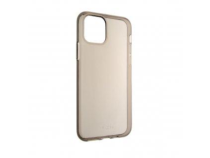 TPU gelové pouzdro FIXED Slim pro Apple iPhone 11 Pro, 0,6 mm, kouřové