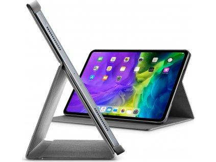 """Pouzdro se stojánkem Cellularline Folio pro Apple iPad Pro 12.9"""" (2020), černé"""