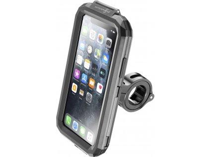 Voděodolné pouzdro Interphone pro Apple iPhone 11 Pro Max, úchyt na řídítka, černé