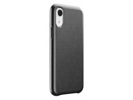 Ochranný kryt Cellularline Elite pro Apple iPhone XR, PU kůže, černý