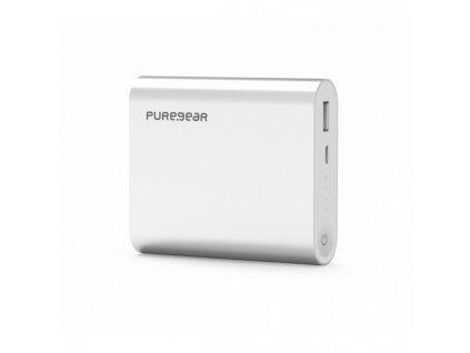 Externí baterie PureGear PureJuice 10400 mAh - stříbrná