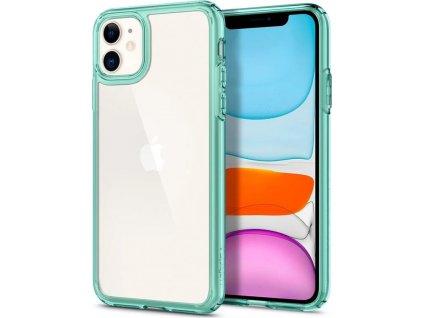 Spigen Ultra Hybrid, green - iPhone 11