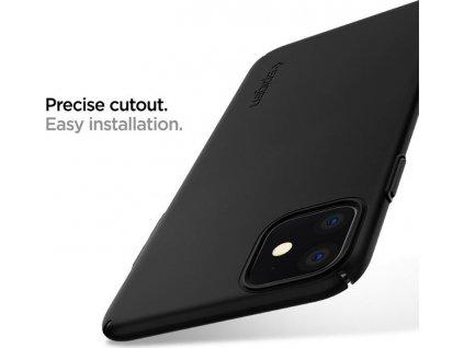 Spigen Thin Fit Air, black - iPhone 11
