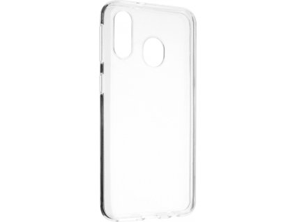 Ultratenké TPU gelové pouzdro FIXED Skin pro Samsung Galaxy A40, 0,6 mm, čiré