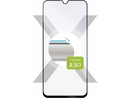 Ochranné tvrzené sklo FIXED Full-Cover pro Samsung Galaxy A40, lepení přes celý displej, černé