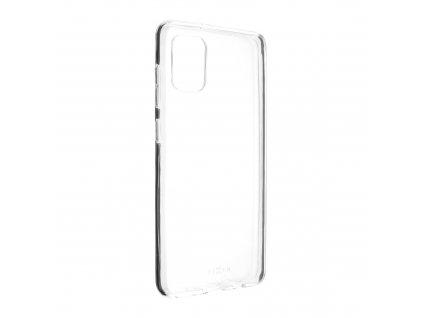 Ultratenké TPU gelové pouzdro FIXED Skin pro Samsung Galaxy A31, 0,6 mm, čiré