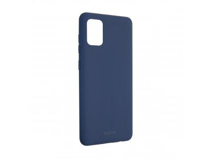 Zadní pogumovaný kryt FIXED Story pro Samsung Galaxy A31, modrý