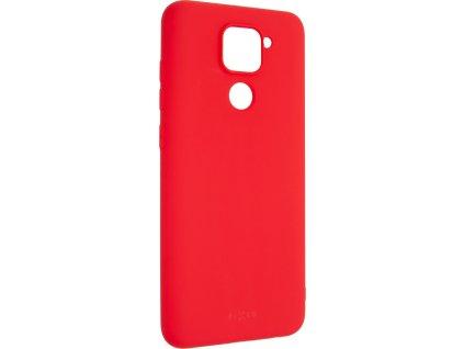 Zadní pogumovaný kryt FIXED Story pro Xiaomi Redmi Note 9, červený