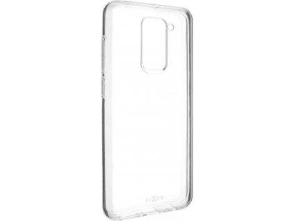 Ultratenké TPU gelové pouzdro FIXED Skin pro Xiaomi Redmi Note 9, 0,6 mm, čiré