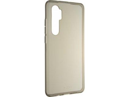 TPU gelové pouzdro FIXED Slim pro Xiaomi Mi Note 10 Lite, 0,6 mm, šedé