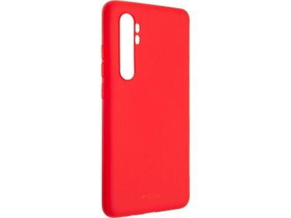 Zadní pogumovaný kryt FIXED Story pro Xiaomi Mi Note 10 Lite, červený