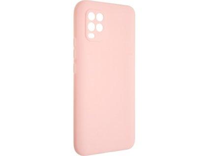 Zadní pogumovaný kryt FIXED Story pro Xiaomi Mi10 Lite, růžový