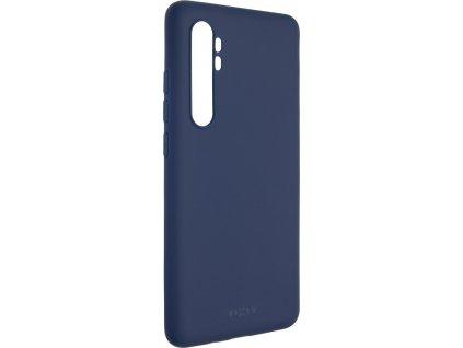 Zadní pogumovaný kryt FIXED Story pro Xiaomi Mi Note 10 Lite, modrý