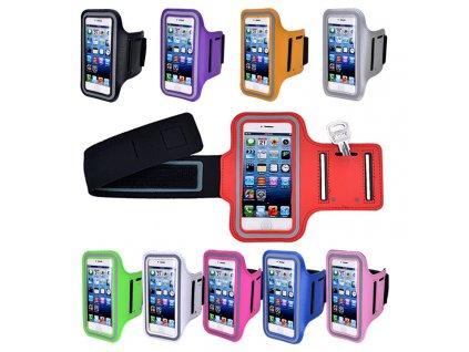 Sportovní pouzdro pro iPhone 6 PLUS, 7 PLUS, 8 PLUS (Barva Zelený)