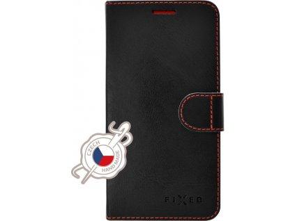 Pouzdro typu kniha FIXED Fit pro Apple iPhone 12 mini, černé