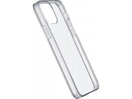 Zadní kryt s ochranným rámečkem Cellularline Clear Duo pro iPhone 12/12 Pro, transparentní