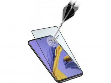 10D Tvrzené sklo Clearo na celý displej pro Samsung Galaxy A70 - Black