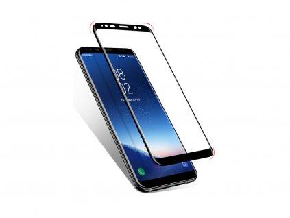 10D Tvrzené sklo Clearo na celý displej pro Samsung Galaxy S9 - Black