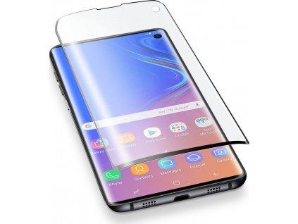 10D Tvrzené sklo Clearo na celý displej pro Samsung Galaxy S10 Plus - Black