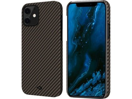 Pitaka MagEZ, black/gold - iPhone 12