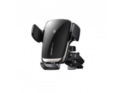 Joyroom Jr-zs248 držák do větrání auta s bezdrátovým Qi nabíjením 15W, Black