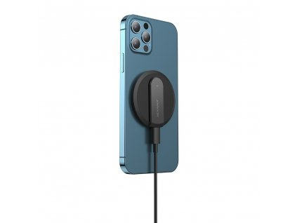 Joyroom JR-A28 bezdrátová nabíječka s MagSafe a rychlým nabíjením 15W pro iPhone 12, 12 Pro, 12 Mini, 12 Pro Max, black