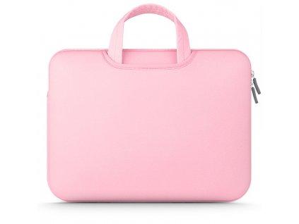 "Tech-Protect Airbag neoprenová taška pro MacBook a ultrabooky do 15""-16"" – růžová"